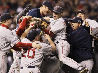 Red Sox celebrating in '07; Who will celebrate this year?